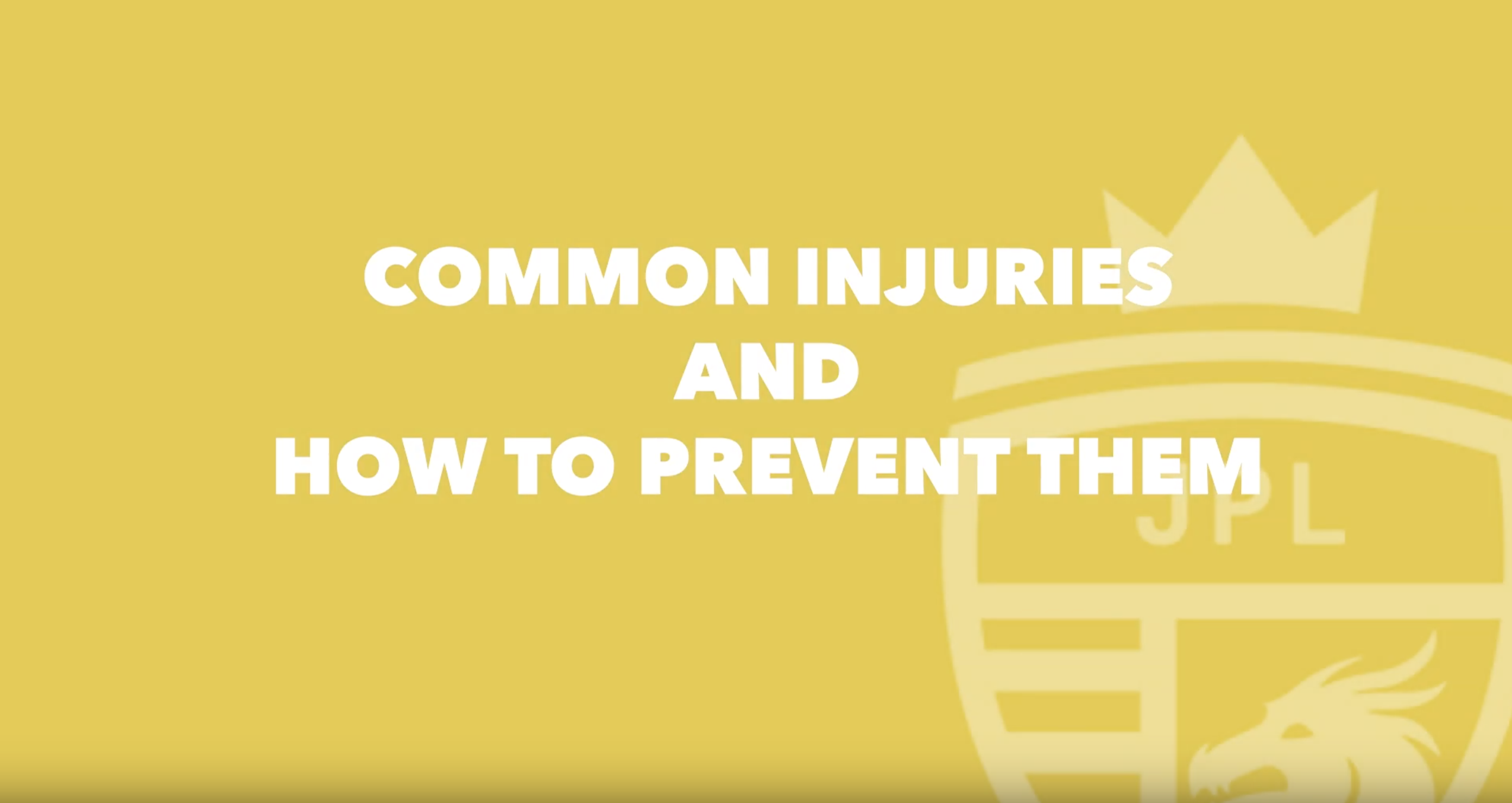 Most common football injuries and how to prevent them