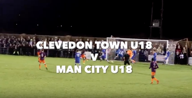 Manchester City v Clevedon Town Game
