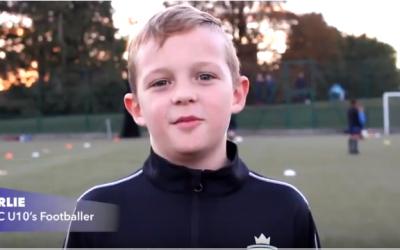 Charlie Interview: U10 NSRTC Football player