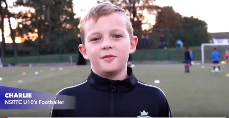 Charlie Interview: U10 NSRTC Football player