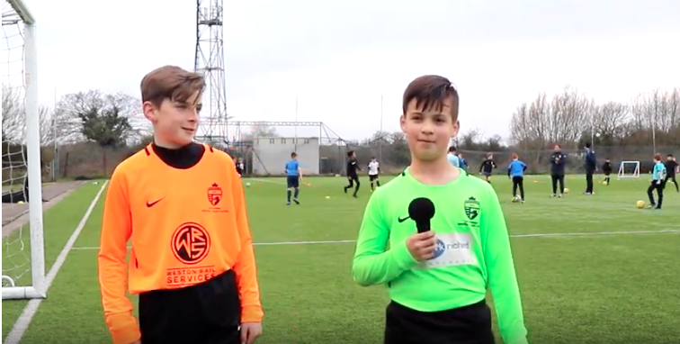 Clayton and Will interview, U11 GoalKeepers at NSRTC
